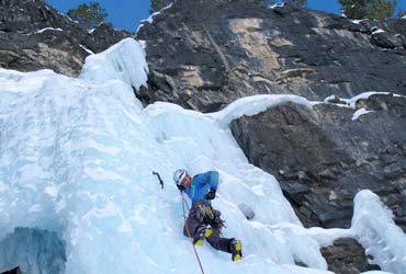 Escalada en hielo alpinismo con guía