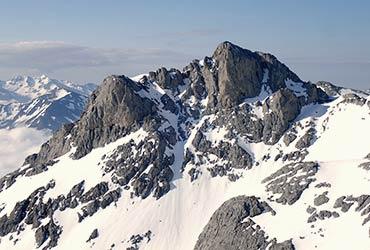 Corredores y cara norte Picos de Europa alpinismo con guía