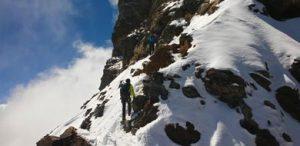 Alpinismo Peña Telera Gran-Diagonal
