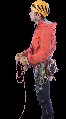 Asier Perez alpinismo con guía
