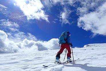 esquí de travesía valle de tena travesía de varios días pirineos
