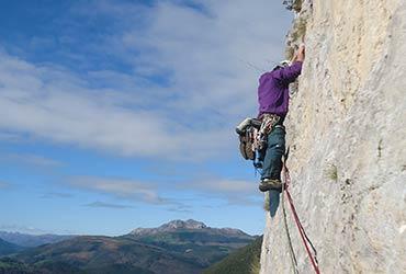 Escalada clasica Picos de Europa - Cueto Agero