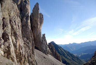 escalada en roca con guía clásica pirineos