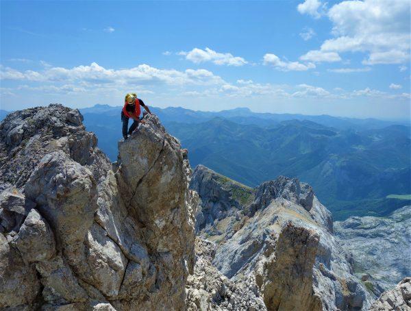 curso de escalada en aristas