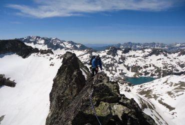 escalada en roca con guía
