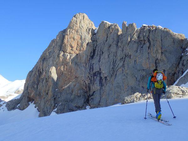 esquí de travesía picos