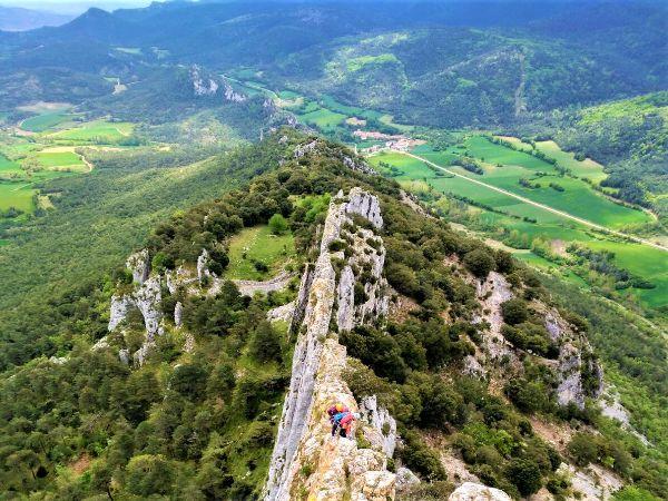 escalada aristas país vasco