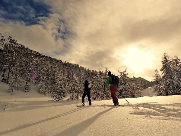 curso de esqui de travesia